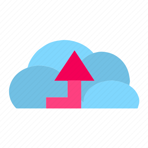 cloud, clouds, cloudy, download, server, storage, upload icon