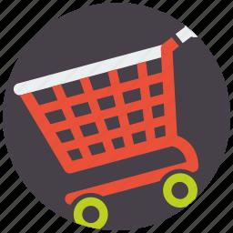 basket, cart, commerce, ecommerce, mobile marketing, sale, seo icons icon