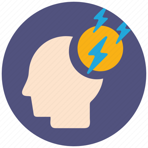 brain, brainstorming, communication, creative, idea, mind, strom icon