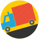 carrier, delivery, road, shipping, shop, transport, transportation icon