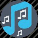 audio, find, media, multimedia, music, search, sound icon