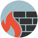 firewall, protect, protection, safe, safety, secure, security icon