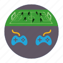 controller, football, game, gamepad, mobile marketing, play, sports icon