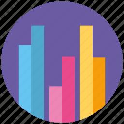analytics, chart, data, diagram, graphics, info, report icon