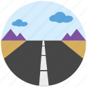 gps, highway, location, map, road, transportation, travel icon