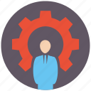 account, business, human, office, people, person, seo icon