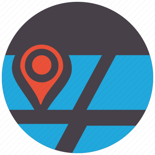 direction, gps, location, navigation, pin, point, pointer icon