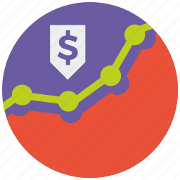 analitics, analysis, analytics, diagram, money, report, statistics icon