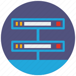 cloud, connection, data, database, network, server, storage icon