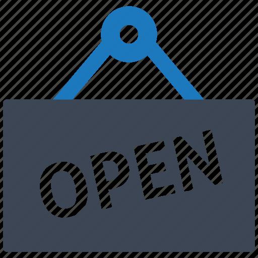 e-commerce, finance, healthcare, illustration, open, seo, shop icon
