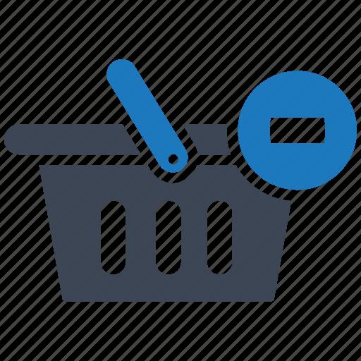 basket, e-commerce, finance, healthcare, illustration, remove, seo icon