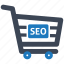 basket, e-commerce, finance, healthcare, illustration, seo icon