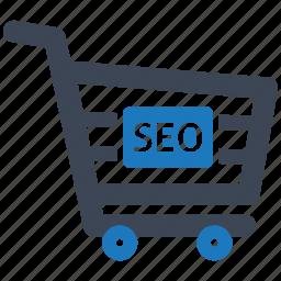 basket, e-commerce, finance, healthcare, illustration, seo icon
