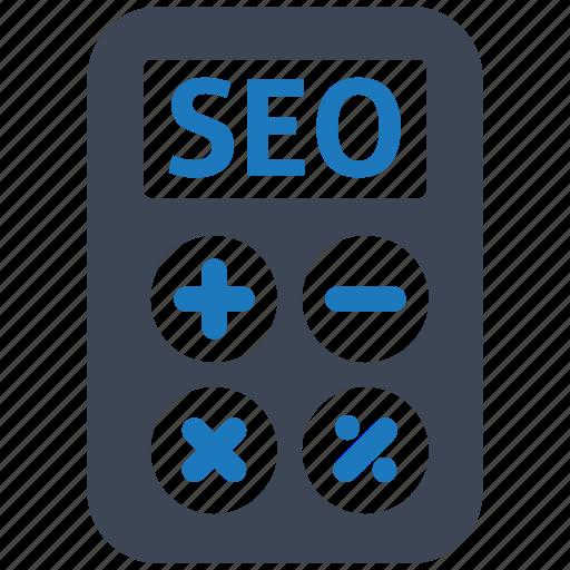 calculate, e-commerce, finance, healthcare, illustration, seo icon