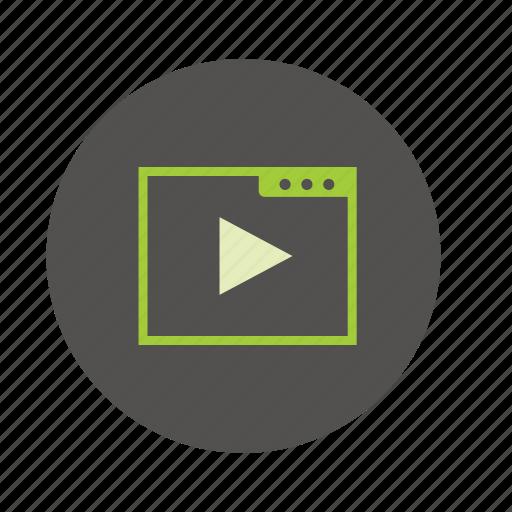 marketing, seo, services, video icon