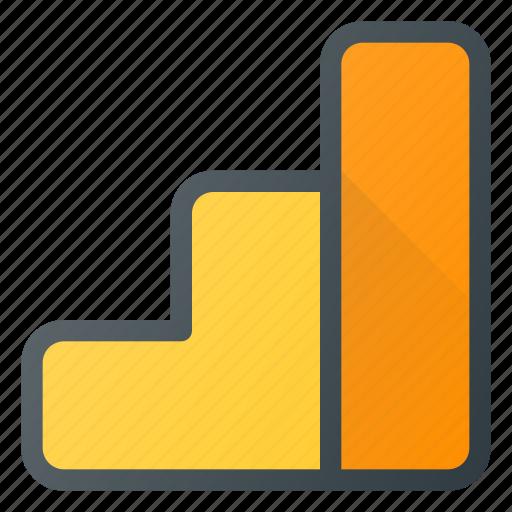 analitycs, analysis, chart, data, google, seo icon
