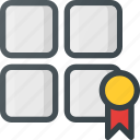 bookmark, category, rank, web icon