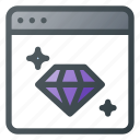 clean, code, coding, good, seo, shine icon