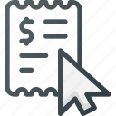 ad, advertising, clic, click, cost per click, pay icon