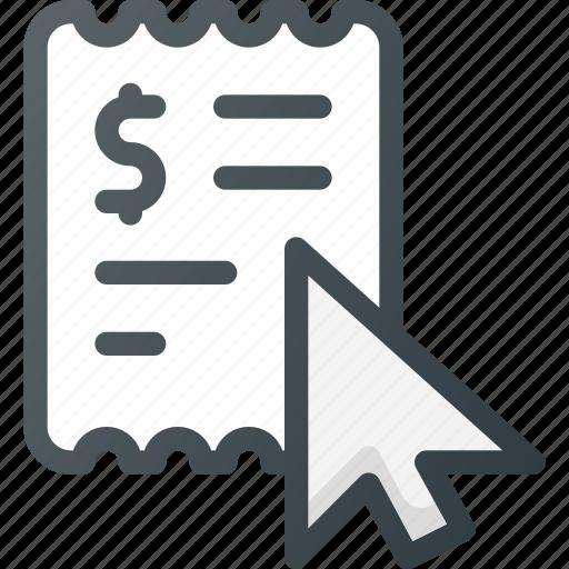 Ad, pay, cost per click, advertising, click, clic icon