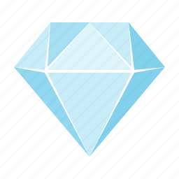 adamant, clean code, coding, diamond, gem, money, treasure icon