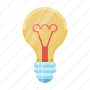 bulb, concept, electricity, great idea, idea, light, lightbulb icon
