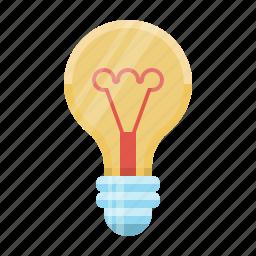 bulb, concept, electricity, great idea, idea, light, lightbulb icon