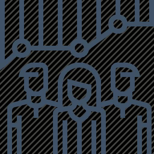 analytics, audience, diagram, graph, insight, seo, statistics icon