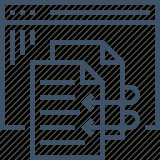 content, duplicate, internet, optimization, search, seo, website icon