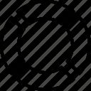 circular chart, diagram, percentage, pie chart, pie graph icon icon