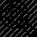 engine, gear, marketing, search icon icon