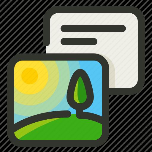 alt, alternative, image, tag, text icon