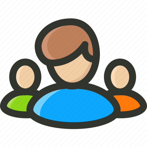 audience, competitors, group, management, people, team icon