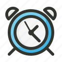 alarm, clock, time, timer, tools, utensils icon