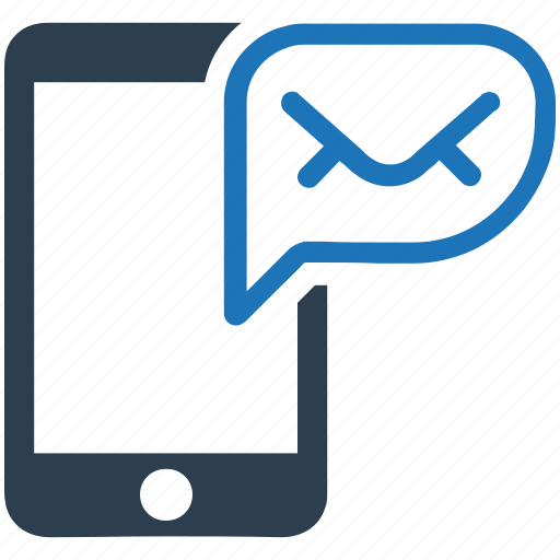 communication, email, letter, mobile, mobile messaging icon