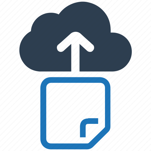 cloud, document, document upload, file, share, upload icon