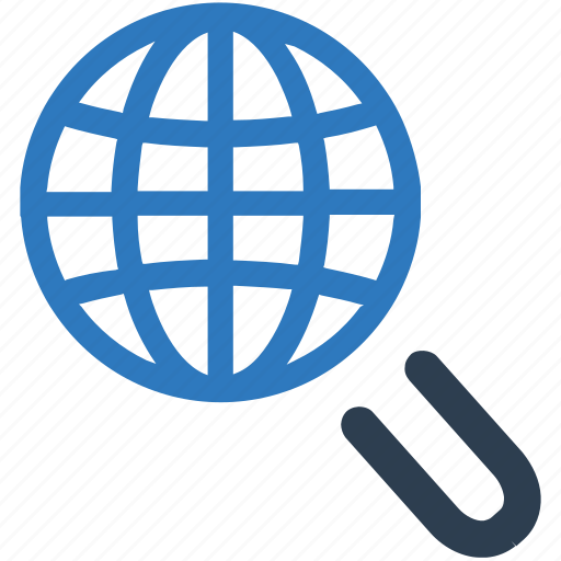 geo find, global search, internet, location search, search icon
