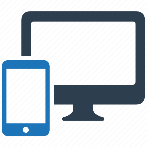 application, devices, layout, mobile, responsive design icon