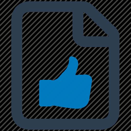 document, favourite docs, favourite document, feedback, positive icon