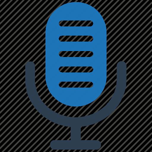 announce, mic, microphone, radio mic, recording icon