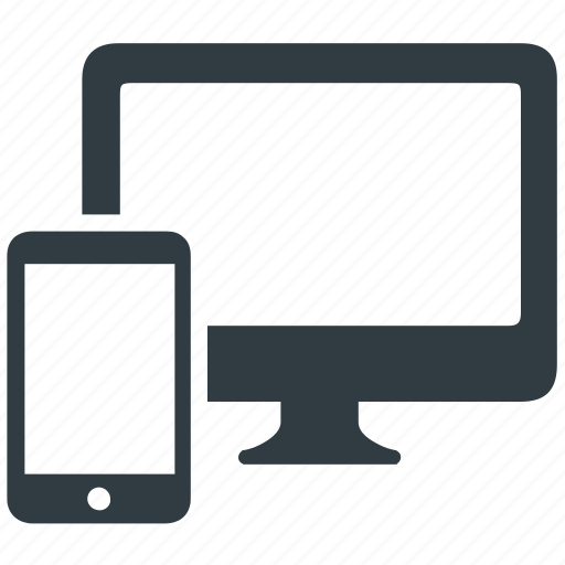 computer, connection, connectivity, mobile, synchronization icon