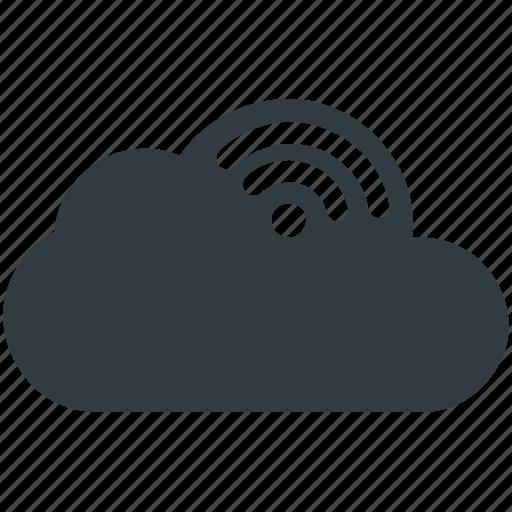 cloud network, cloud wifi, wifi cloud, wifi zone, wireless network icon
