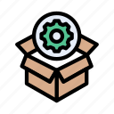 seo, setting, gear, box, delivery