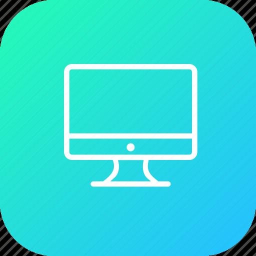 computer, desktop, device, monitor, optimization, seo, tool icon