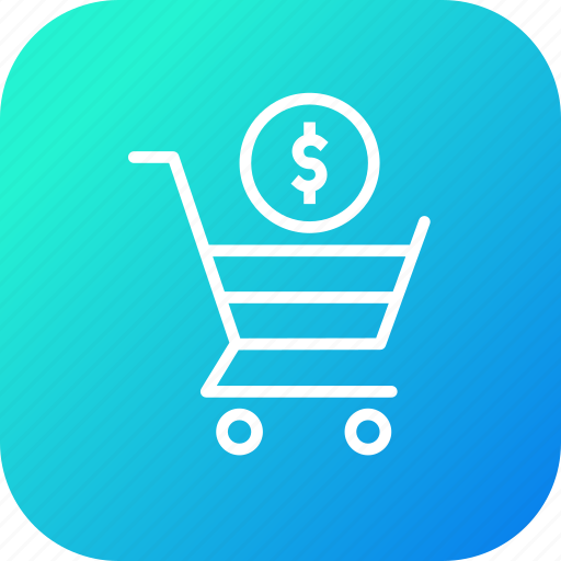cart, currency, dollar, online, seo, shopping, trolly icon