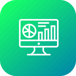 analytics, chart, data, graph, market, performance, research icon