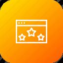 app, application, browser, favorite, like, star, window