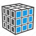 analytics, creativity, cube, logic, optimization, rubiks cube, seo, strategy icon