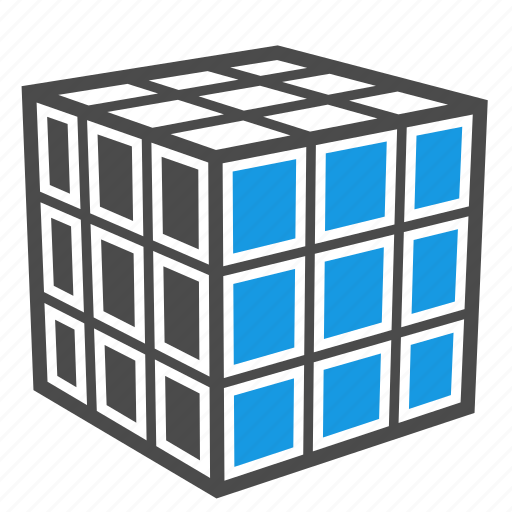 analytics, creativity, cube, logic, optimization, rubiks cube, seo, strategy icon