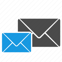 address, communication, contact, email, envelope, inbox, letter, message icon